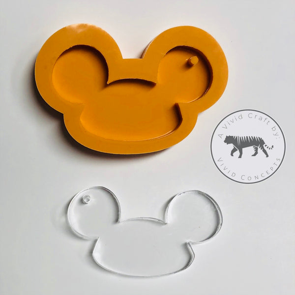 Hat with Mouse Ears Silicone Mold