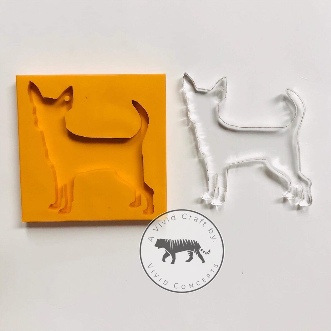 Dog - Chihuahua (Short Haired) Silicone Mold