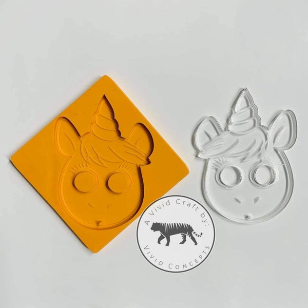 Pointy Unicorn Silicone Mold