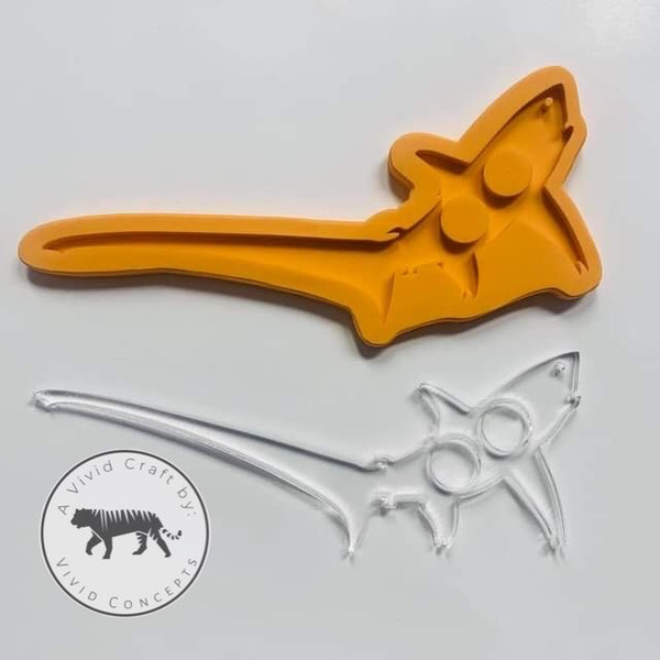 Pointy Thresher Shark Silicone Mold