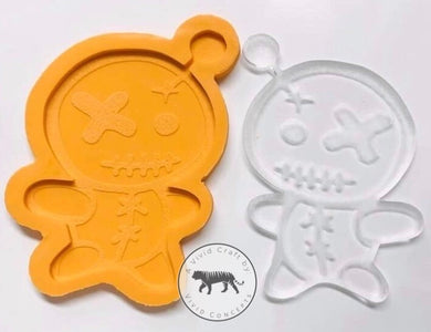 Voodoo Doll Coaster Silicone Mold