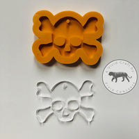 Skull and Crossbones Silicone Mold