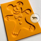 Gingerbread Mouse Silicone Mold