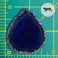 Geode Badge Reel Silicone Mold