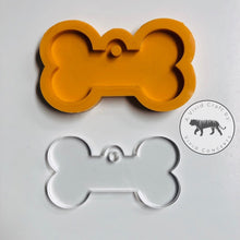 Load image into Gallery viewer, Dog Bone / Tag Silicone Mold