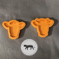 Bull and Cow / Heifer Silicone Mold Set