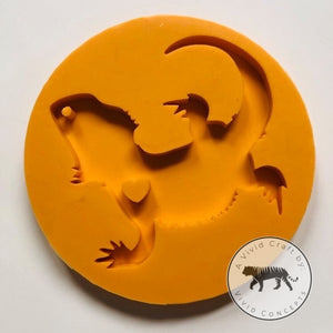Bearded Dragon Silicone Mold