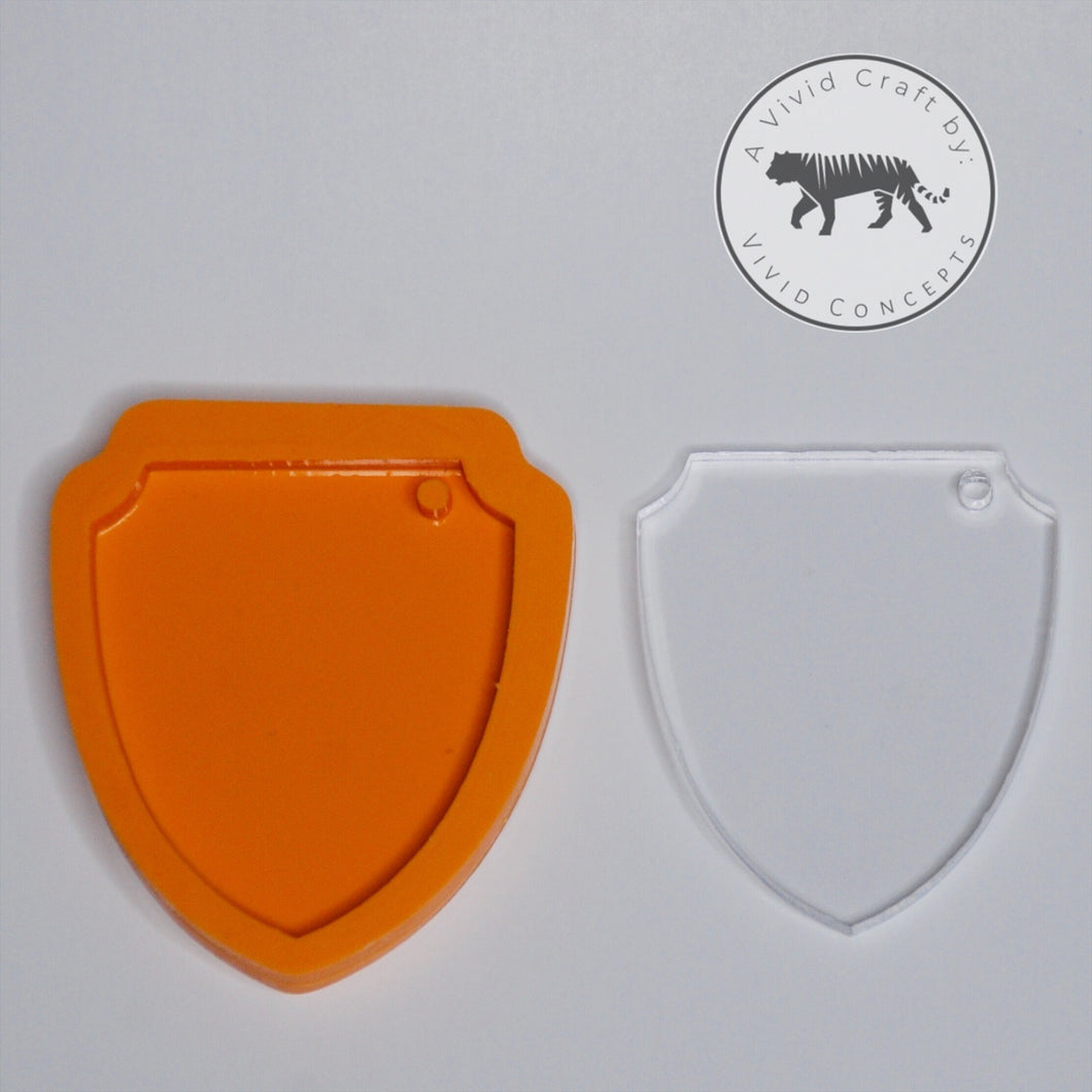 Shield Silicone Mold