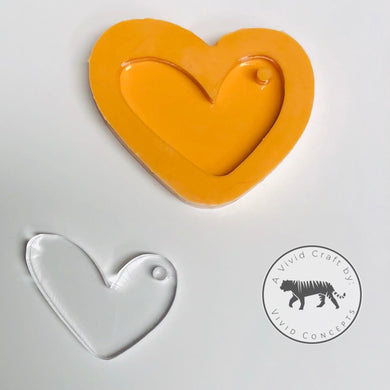 Heart #2 Silicone Mold