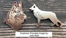 Load image into Gallery viewer, Dog - German Shepard Dog Silicone Mold