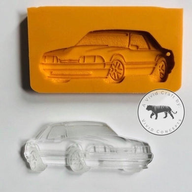 Foxbody Mustang (Engraved) Silicone Mold