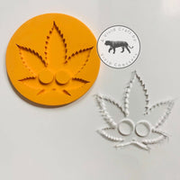 Pointy 420 Leaf Silicone Mold