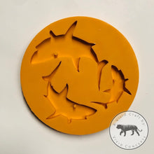Load image into Gallery viewer, Shark Family Silicone Mold Set