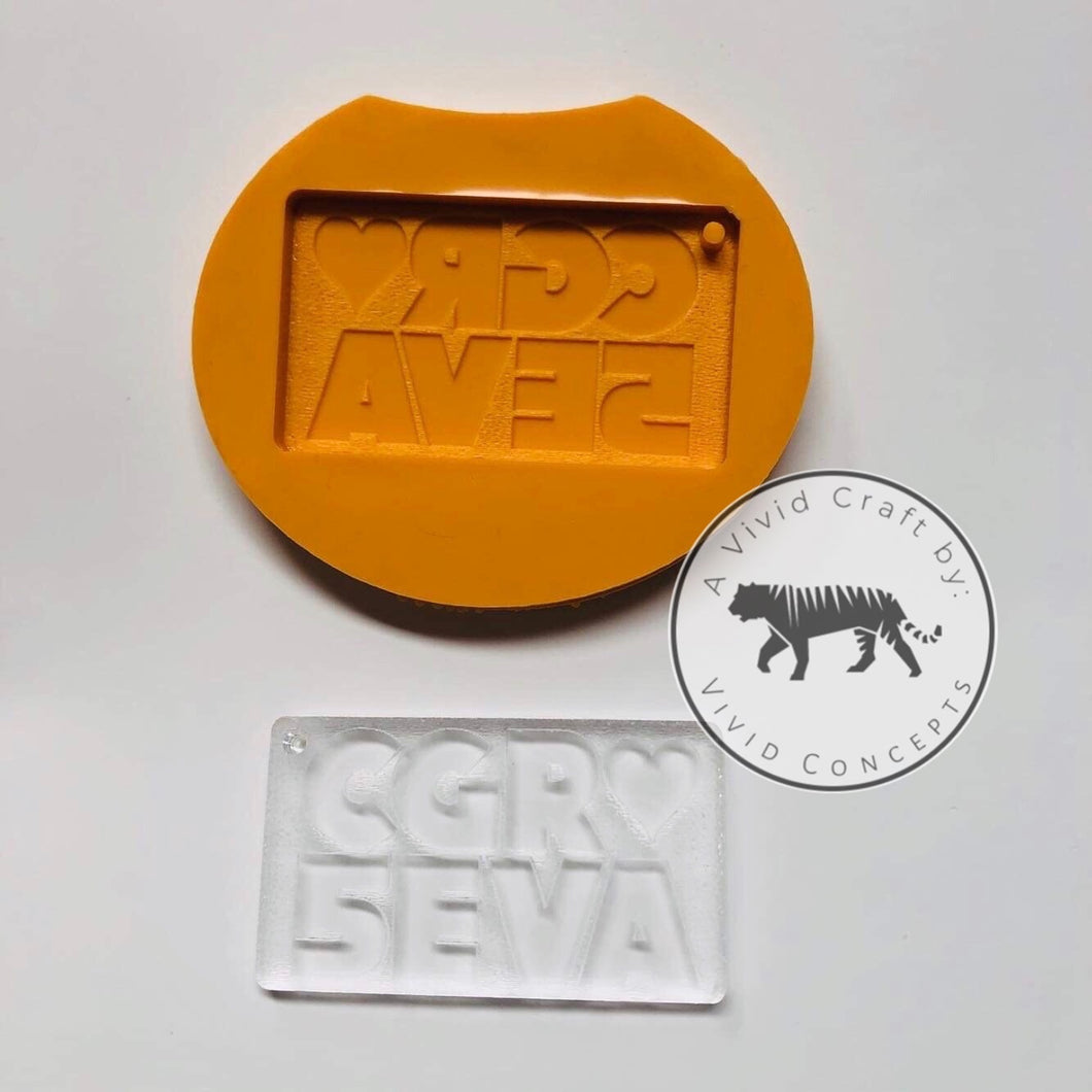 CGR5EVA Rejects Silicone Mold