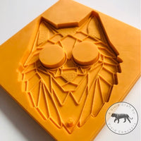 Pointy Eared Fox Face Silicone Mold