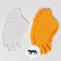 Angel Wing Coaster Silicone Mold