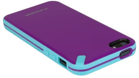 Puregear Slim Shell Case for iPhone 5 - Passion Fruit