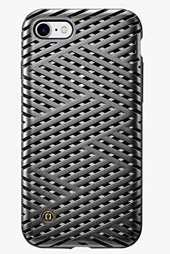 Granite Kaiser Case for iPhone 7 Gunmetal Cage Pattern