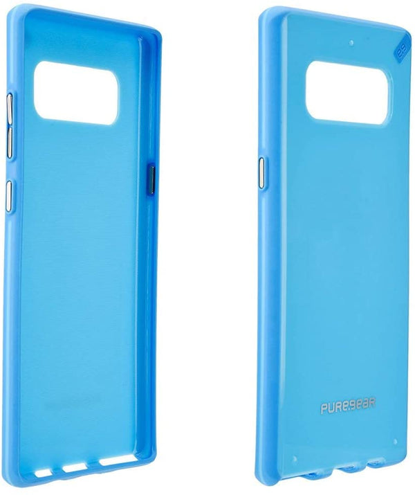 PureGear Slim Shell Case for Samsung Galaxy Note 8 -Sky Blue