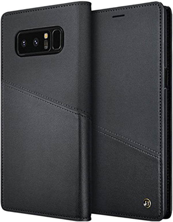 Granite Homme Flip Case for Samsung Galaxy Note 8 - Black