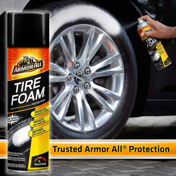 Armor All Car Tire Foam Protectant 4 Oz, 2 Pack