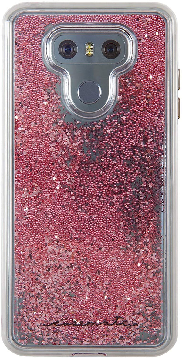 Case Mate Naked Tough Waterfall Impact Protection Case For LG G6 - Clear/Rose
