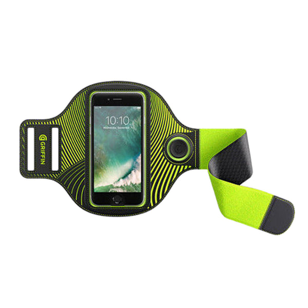 "Griffin Light Runner Arm Band for Smartphones up to 5.5"" - Black"