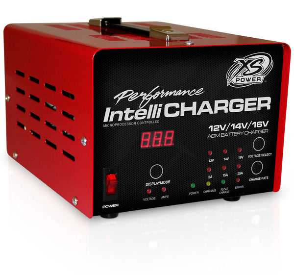 XS POWER BATTERY 1005E 12/16V Battery Charger Intellicharger Series