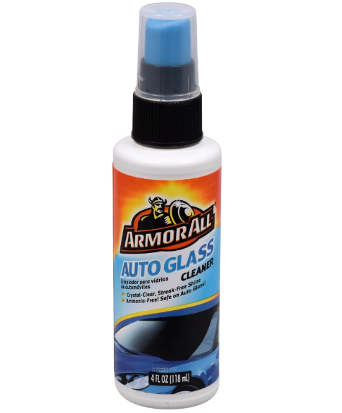 Armor All Auto Glass Cleaner, 4 oz, 2 Pack