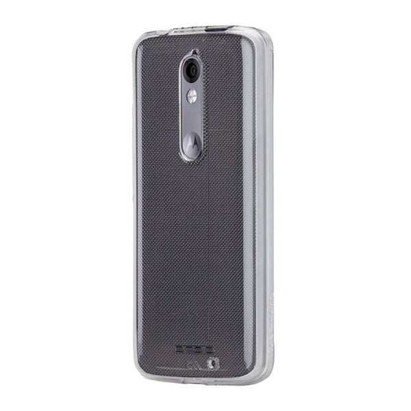Case Mate Dual Layer Impact Absorbing Case for Motorola Droid Turbo 2 - Clear