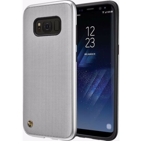 Granite Chain Veil Case for Samsung Galaxy S8 Plus- Dream Silver