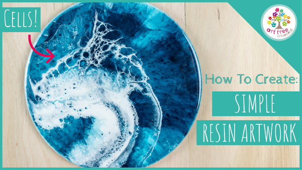 How to Create: Simple Resin Artwork