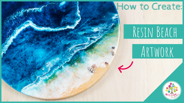 How to Create: Beach Resin Artwork