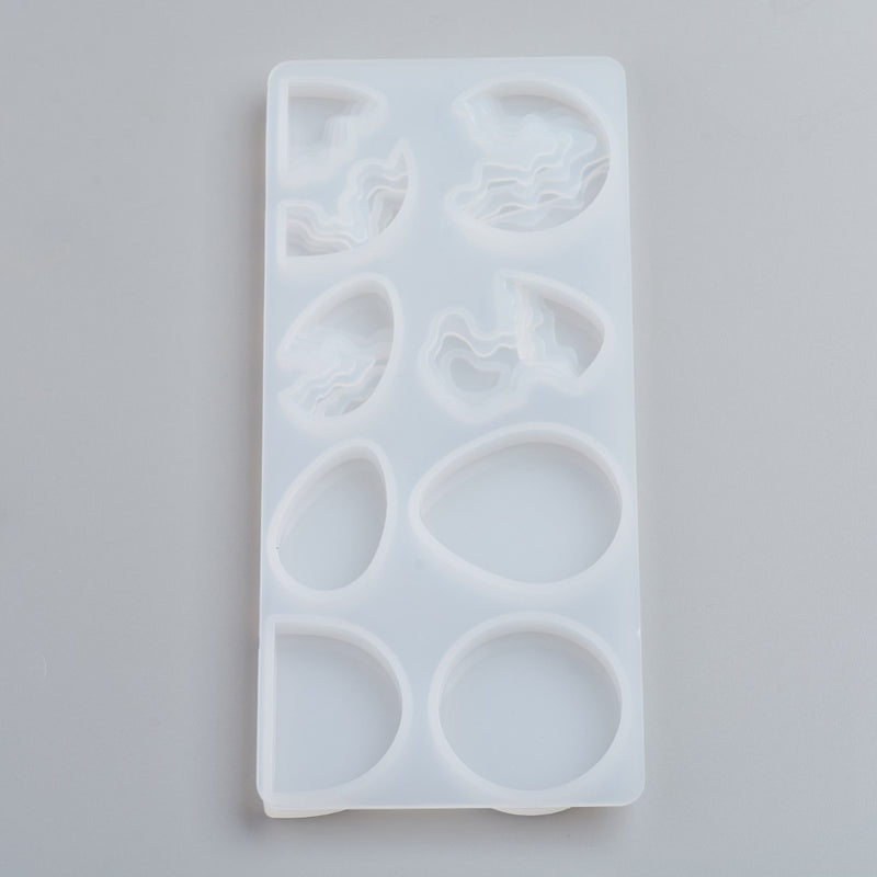 Layered Jewellery Shape Silicone Moulds