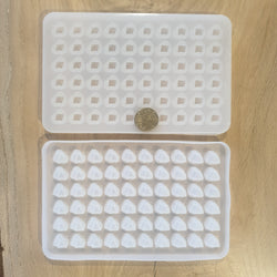 Small Rock Stud Tray Silicone Mould