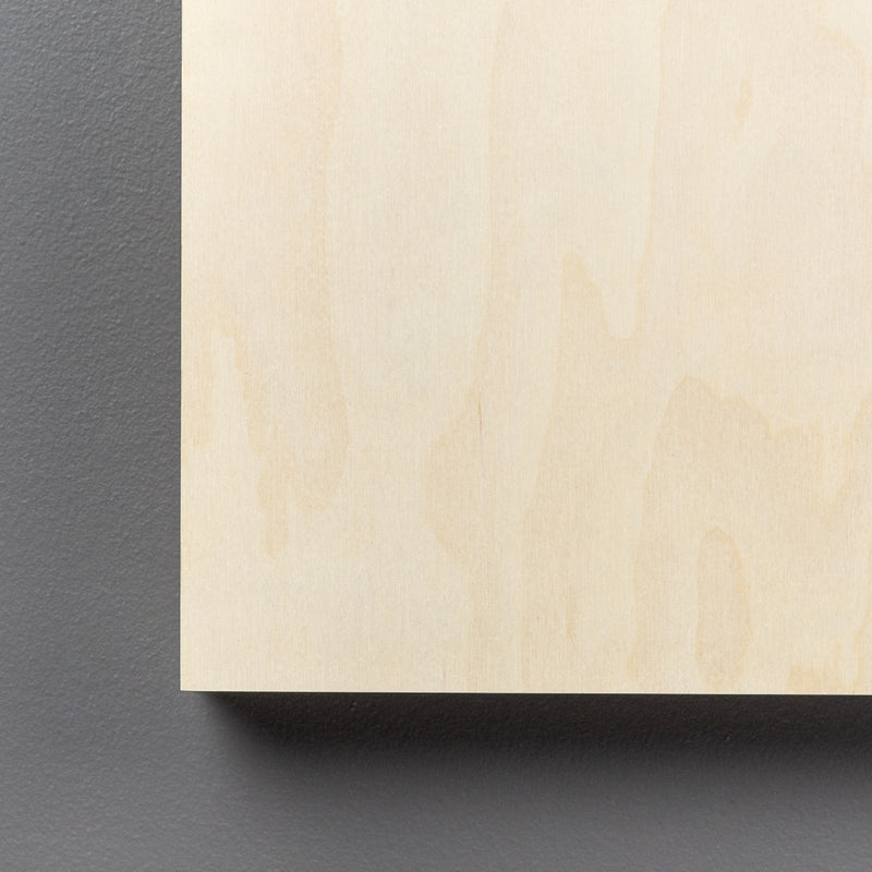 Birch Rectangle Art Boards all sizes