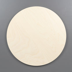 Birch Round art boards all sizes