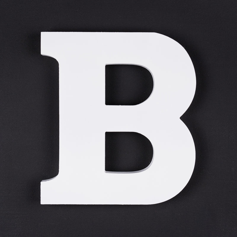 B timber letter