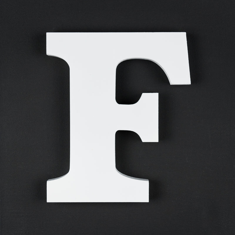 F timber letter
