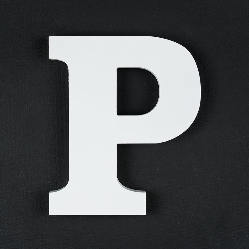 P timber letter