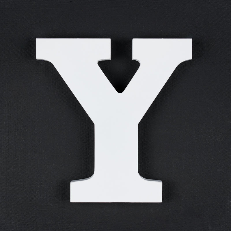 Y timber letter
