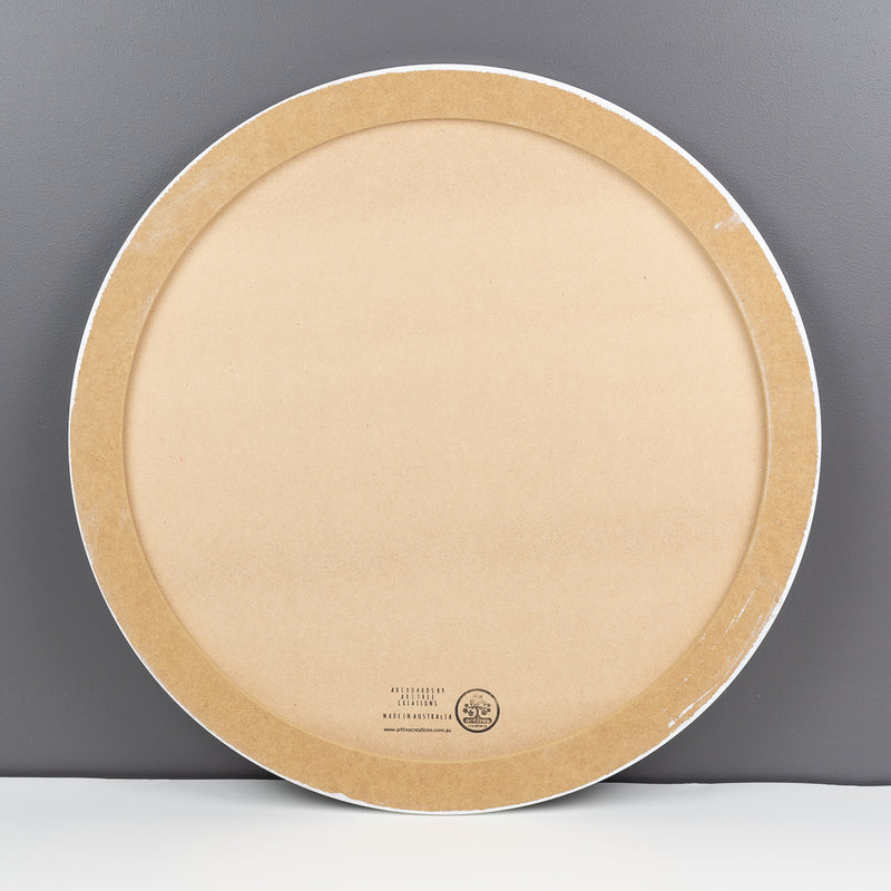 Primed Round art boards all sizes