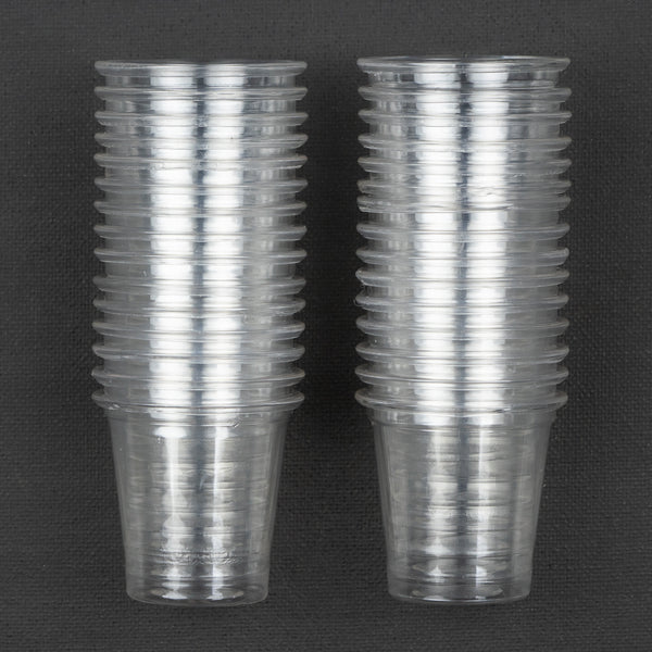Plastic Mini Cups 30 pack