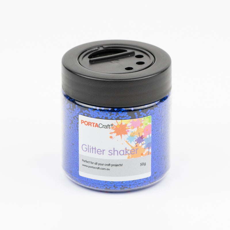 Glitter Shakers Assorted Colours 50g