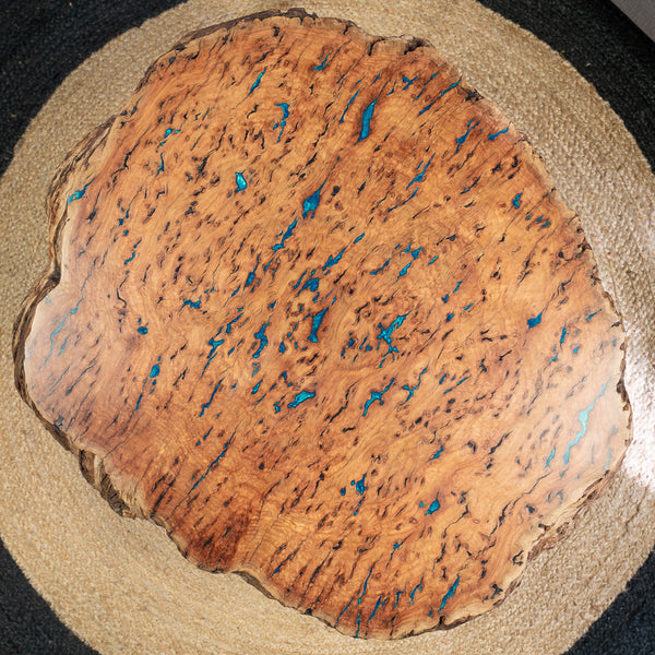 Burl & Resin Coffee Table