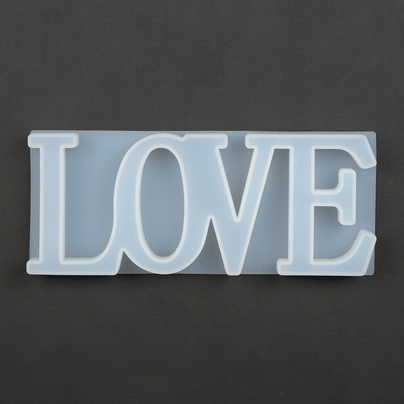 LOVE Word Mould