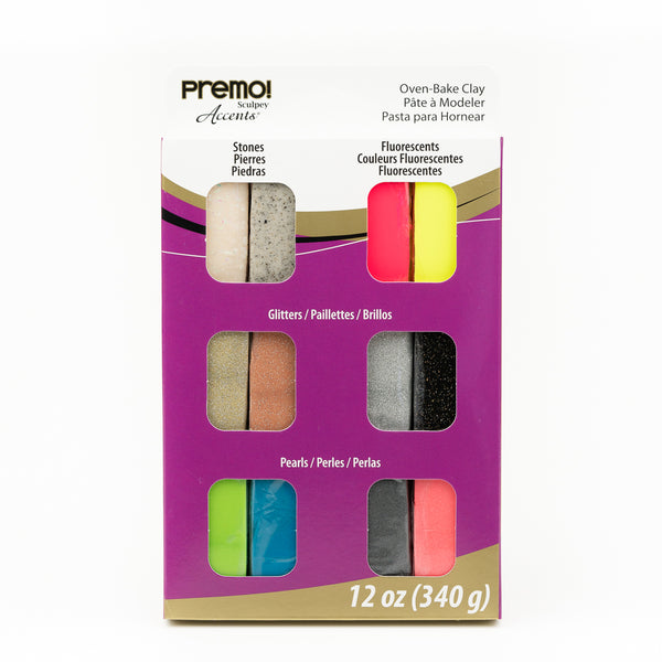 Premo Sculpey Mixed Effects 12pk set