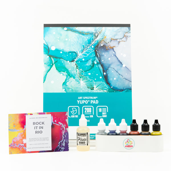 Alcohol Ink Starter Kit