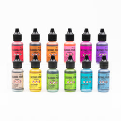 12pk of Tim Holtz Ranger Alcohol Inks