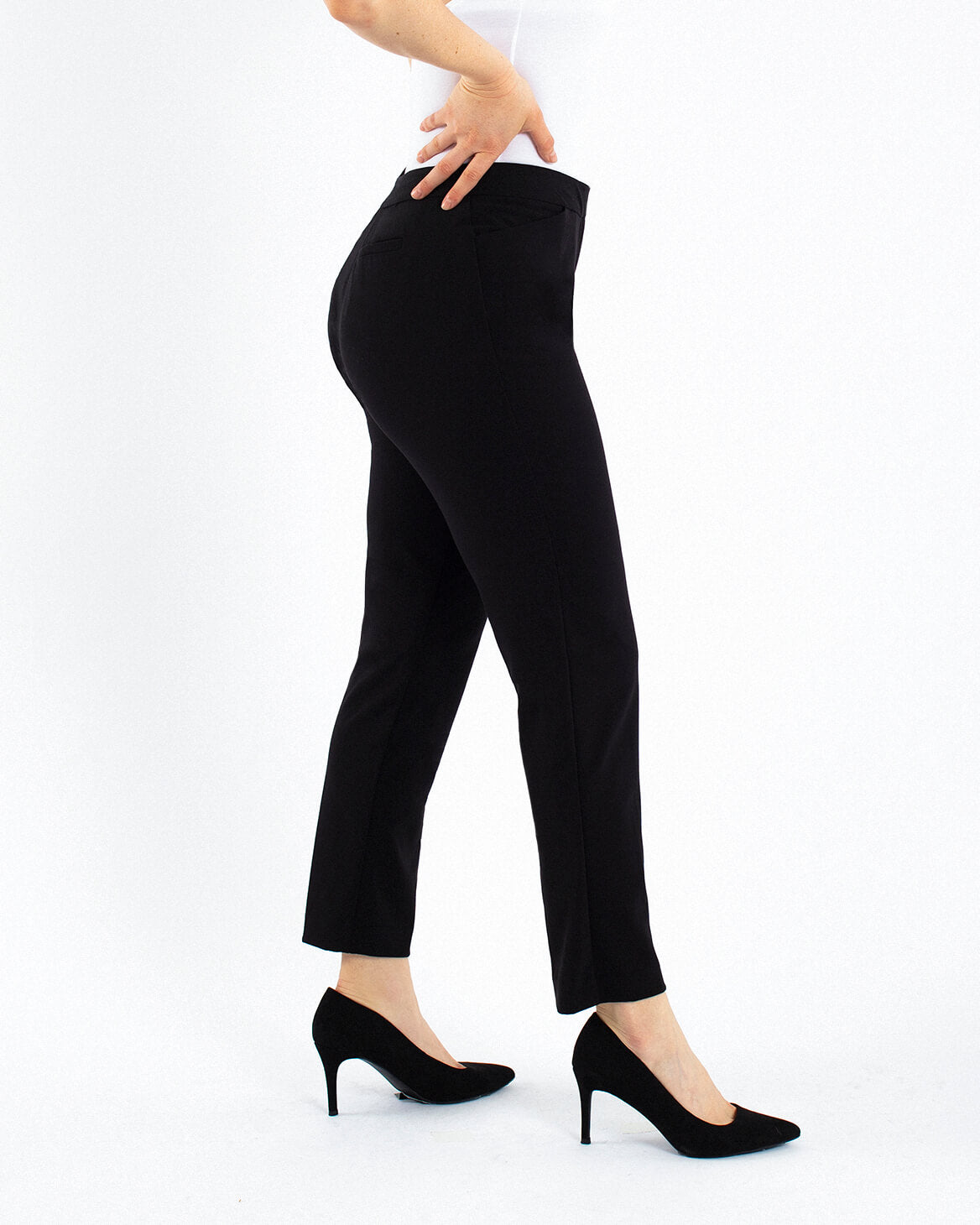 Ankle Slim Front Zip